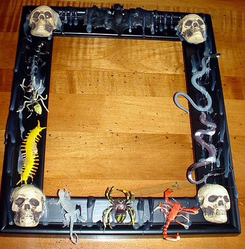 Halloween: Goth Picture Frame